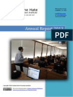Online Hate Prevention Institute (OHPI) 2013 Annual Report on Operations