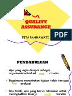 Quality Assurance Untuk