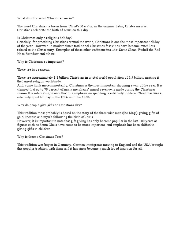 christmas info holidays christmas - What Does The Word Christmas Mean