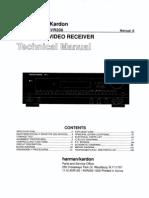 Service Manual Hrman Kardon  AVR 100, AVR 200