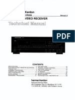 Service Manual Hrman Kardon  AVR 100, AVR 200
