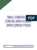 Cimentacion de Zapatas