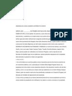 Escrito No. 29 Interdicto de Amparo de Posesio Otenencia
