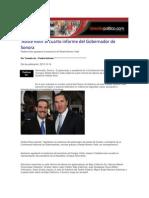 14-10-2013 Dossierpolitico.com - Asiste RMV Al Cuarto Informe Del Gobernador de Sonora