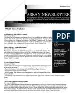 ASEAN Newsletter Nov 2012
