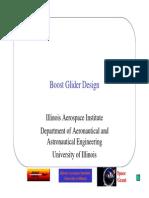 Boost Glider Design