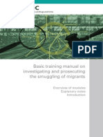 Basic Training Manual on Investigating and Prosecuting the Smuggling of Migrants