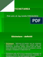 ETICHETAREA
