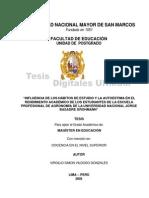 TESIS. HÁBITOS DE ESTUDIO Y LA AUTOESTIMA. UNSMS. BUENO
