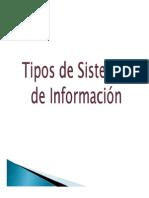 Parte 2 Tipos de Sistemas de Información