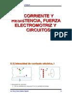 Cap 6 Corriente y Resistencia Fuerza Electromotriz y Circuitos 98-123