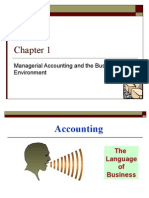 1_Chap 01_Managerial Accounting and the Business Environment