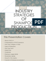 Shampoo Industry Ppt