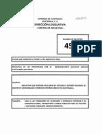 Iniciativa de Ley 4502 Canal Interoceanico