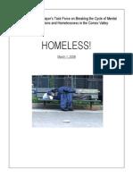 Courtenay Homelessness Report