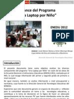 Balance del Programa 'Una Laptop por Niño'