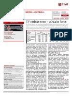 TV ratings scan – 2Q14 in focus +longtermgrp+ CIMB OCT13
