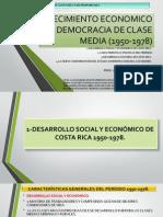 II Pres Crecimiento Economico y Democracia de Clase Media (