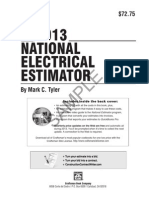 2013 National Electrical Estimator