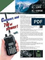 IC-V85E