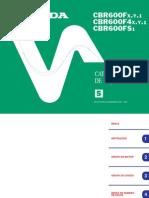 CBR 600F Service Manual (Spanish)