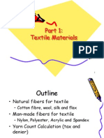 Textile Fibre Yarn Count