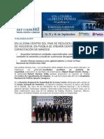 14-10-2013 Blog Rafael Moreno Valle - EN LA ZONA CENTRO DEL PAIS SE REDUCEN LOS ÍNDICES DE VIOLENCIA; EN PUEBLA SE CREARÁ CENTRO DE CAPACITACIÓN DE MANDOS