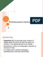 SS Persuasive Propoganda