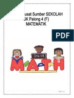 Matematik Week Paperwork