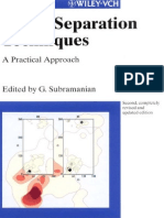 Chiral Separation Techniques a Practical Approach 2nd Edition (G. Subramanian)