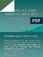 Poder Calorifico ( BTU)