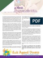 Birds Nest Custody Model