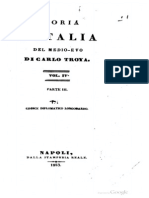 Carlo Troya - Codice Diplomatico Longobardo 3 (686-740)