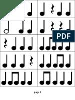 Practice Rhythm Flashcards