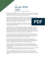 20130105_El Manejo de YPFB Editorial