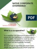 Co-operative Corporate Governance