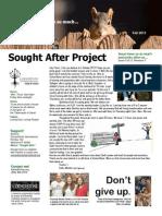 Wooten NewsletterSummer 2013