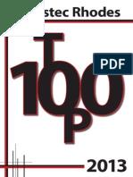 Investec Rhodes Top 100 2013 Insert