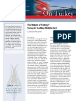 The Return of History? Turkey in the New Middle East