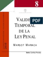 Validez Temporal de La Ley Penal