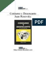 Rosovsky, Juan - Consumo y Desencanto
