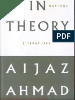 Aijaz Ahmad - In Theory