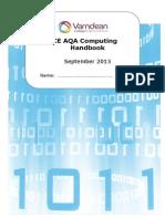 Computing Handbook 2013