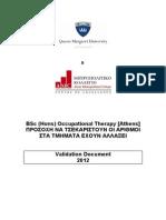 B-OT Validation Document Draft 24-05-2012 LR
