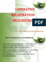 Co Op Registration Procedures