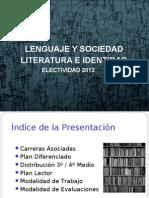 Presentación Plan Diferenciado 3º 2013