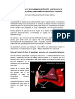 Cómo llevar a cabo la técnica de penetración coital para favorecer la estimulación de la próstata y desencadenar la Eyaculación Femenina