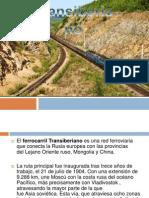 El Ferrocarril Transiberiano