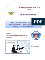 PROYECCION SOCIAL GRUPO Nº 01