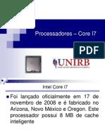 Processadores COre I7